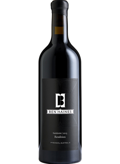 Ben Haines Ben Haines 'Rendition' 2015 Nebbiolo, Pyrenees, Australia (Pre-arrival only)
