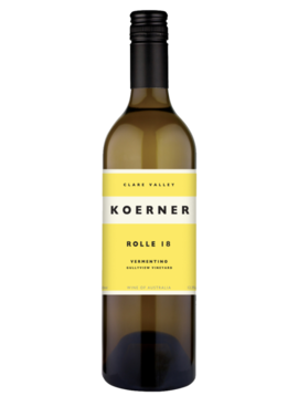 "Koerner Koerner 2018 ""Rolle"" Vermentino, Australia"