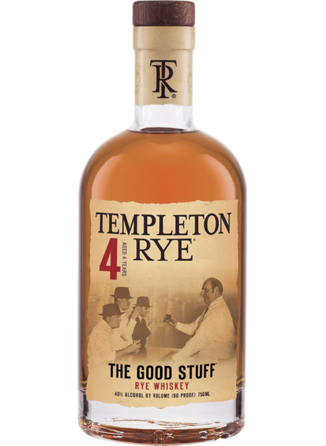"Templeton Templeton Rye ""The Good Stuff"""