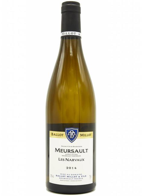 "Domaine Ballot Millot & Fils Domaine Ballot Millot & Fils 2014 Meursault ""Les Narvaux"", France"