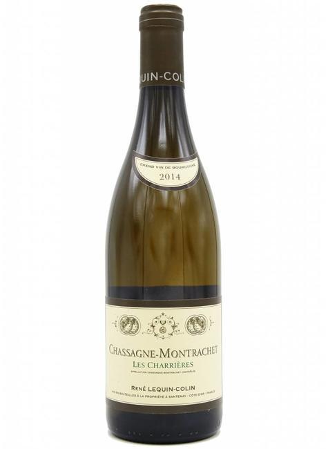 """Domaine René Lequin-Colin Domaine Rene Lequin-Colin 2014 Chassagne-Montrachet """"Les Charrieres"""" Burgundy, France"""