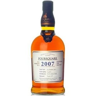 Foursquare Distillery Foursquare Distillery 2007 Exceptional Cask Selection Single Blended Rum, Barbados