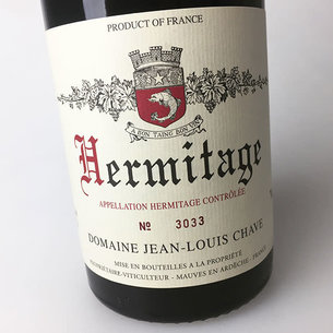 Jean Louis Chave Jean-Louis Chave 2017 Hermitage Rouge, France