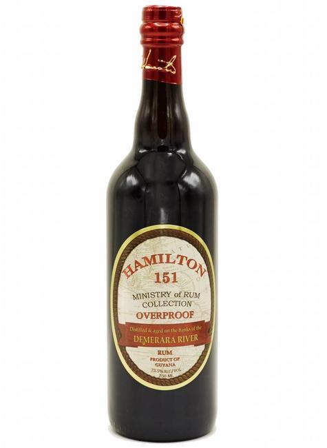 Hamilton Hamilton 151 Overproof Demerara Rum