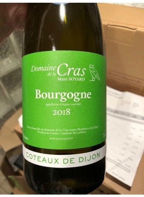 Domaine de la Cras Domaine de la Cras 2017 Coteaux de Dijon Monopole Bourgogne Blanc, France