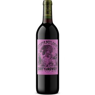 Dirty & Rowdy Family Winery Dirty & Rowdy Family Winery 2017 Unfamiliar Red Blend, California