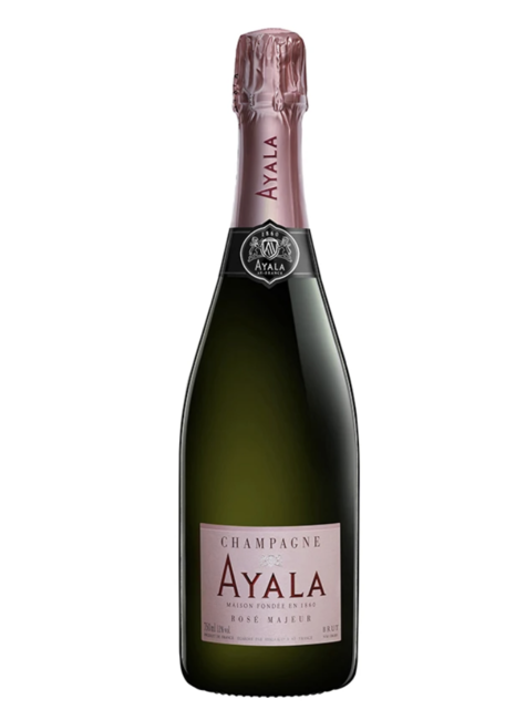 Champagne Ayala Ayala, Champagne Brut Majeur Rosé (NV), half