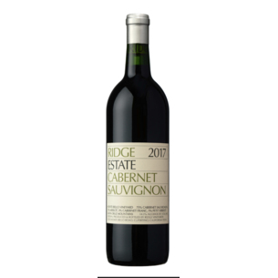 Ridge Ridge Vineyards, 2017 Estate Cabernet Sauvignon, California, 375ml
