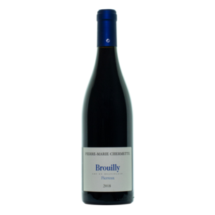 "Pierre-Marie Chermette 2018 Brouilly ""Pierreux"", France"
