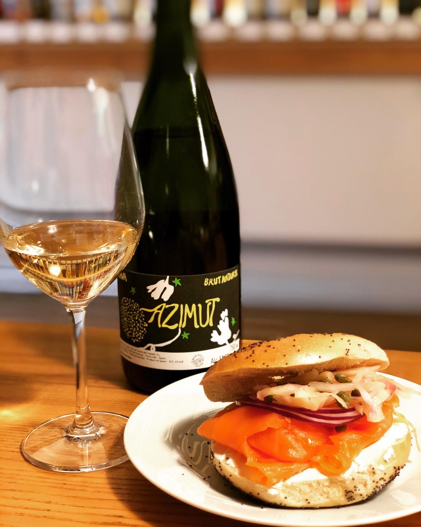 Russ and Daughters + Azimut Cava