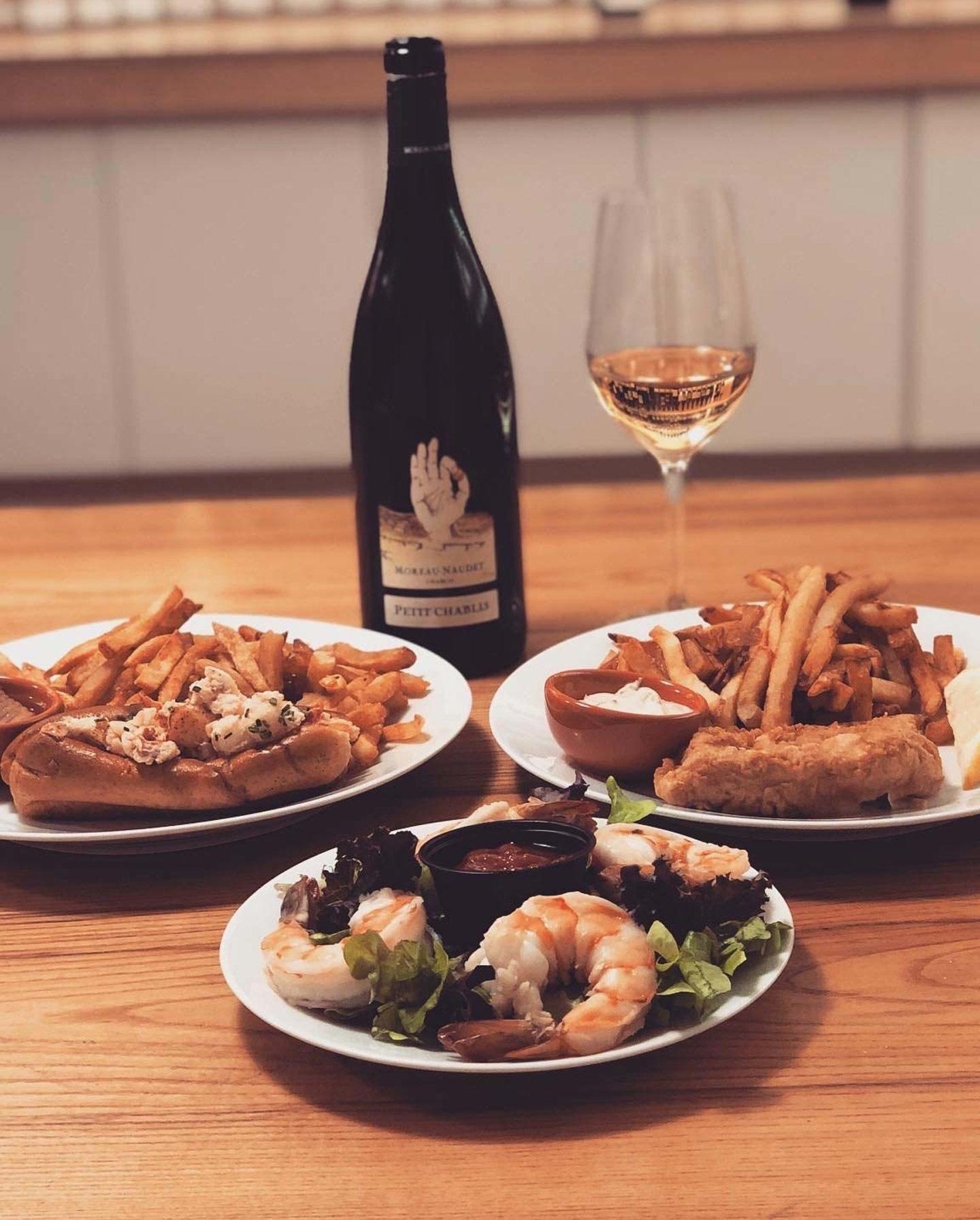 Eds Lobster Bar + Moreau Naudet Petit Chablis