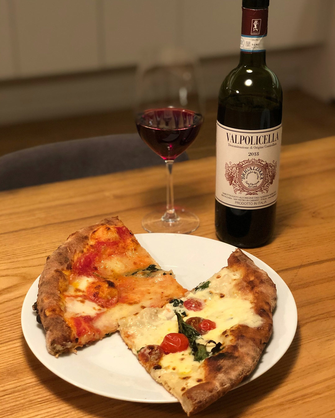 Motorino Pizza + Brigaldara Valpolicella Classico