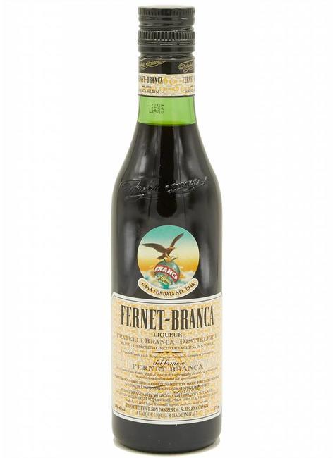 Distillerie Fratelli Branca Fernet-Branca Amaro Liqueur, half