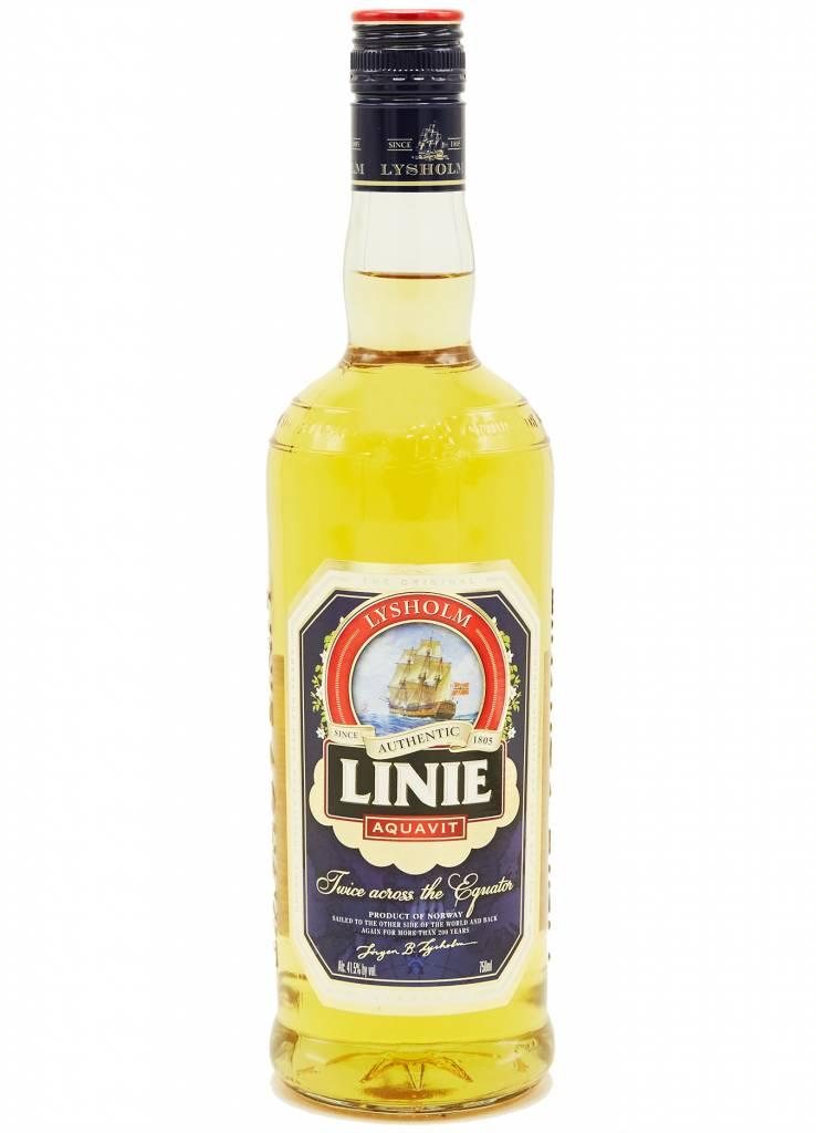 Lysholm's Lysholm's Linie Aquavit Liqueur Norway 83 Degree