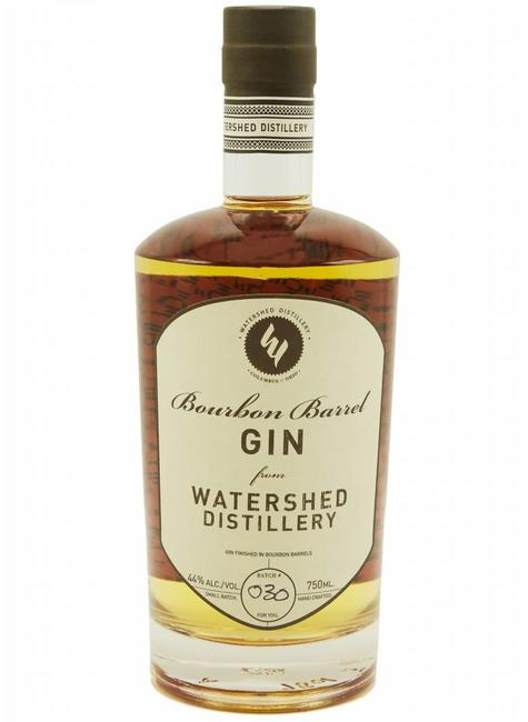Watershed Distillery Watershed Distillery Bourbon Barrel Gin, Ohio