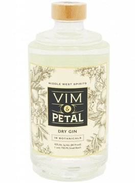 Middle West Vim & Petal Gin, Middlewest Spirits, Ohio