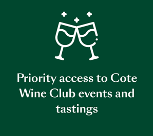 Personal assistance for reservation & private dining request at COTE