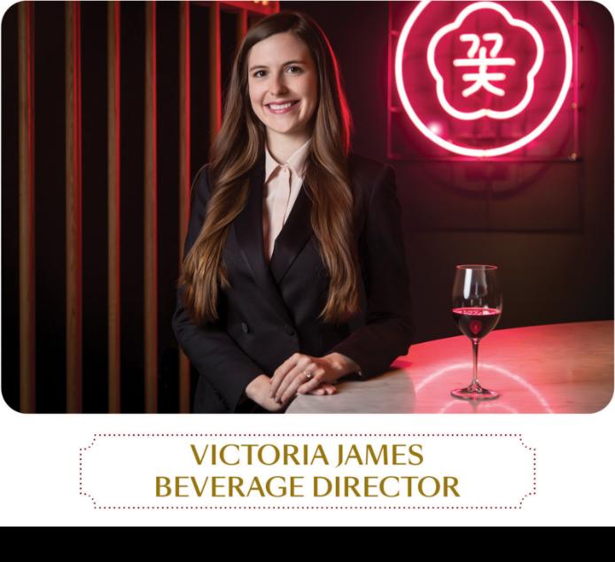 Victoria James - Beverage Director