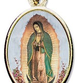Our Lady of Guadalupe Epoxy Medal