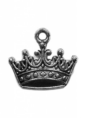 Metal Crown Charm