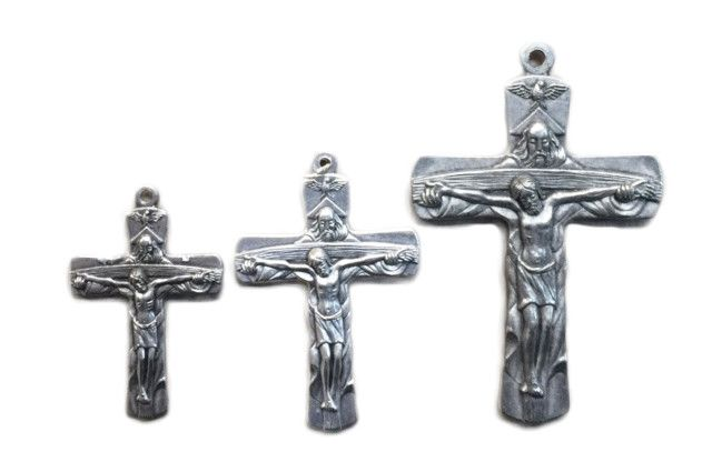 Trinity Cross w/Black Cord