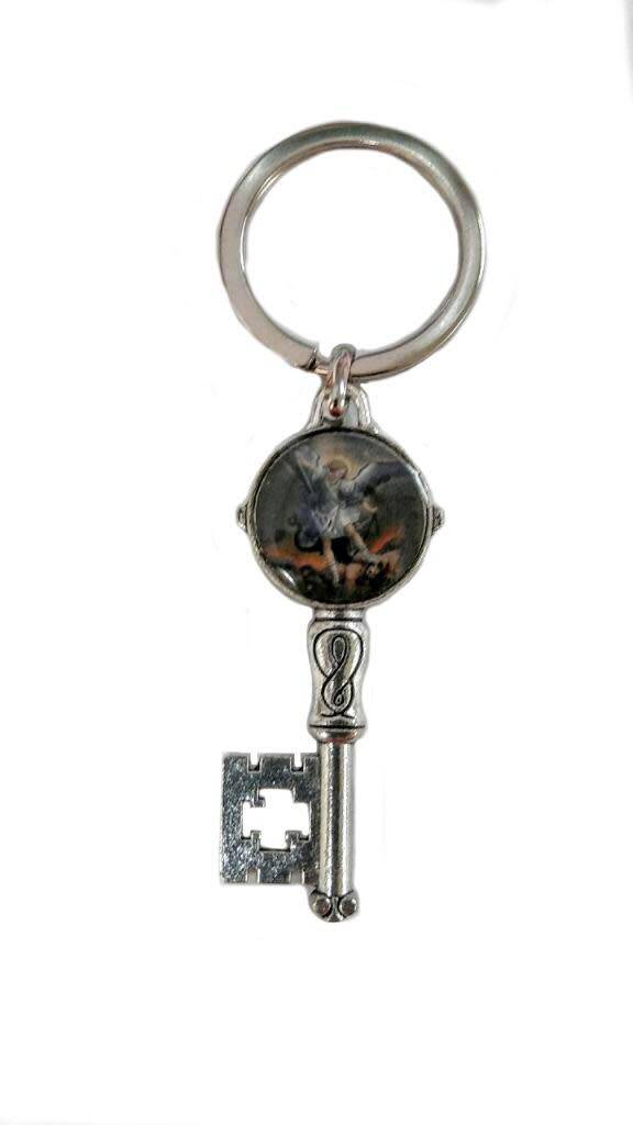 St. Michael Key Keychain