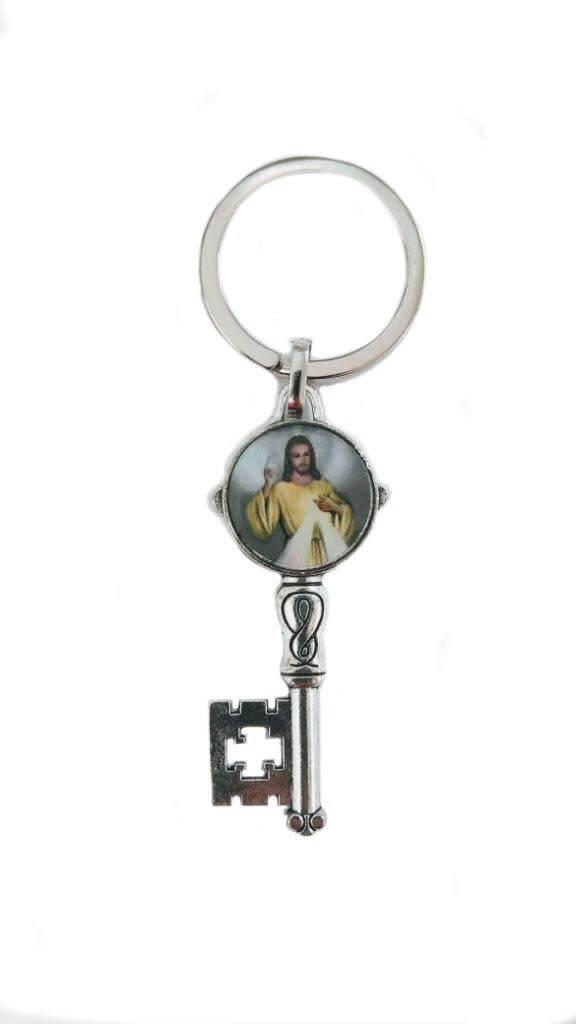 Divine Mercy Key Keychain