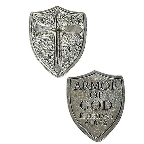 Armor of God Shield Pocket Token