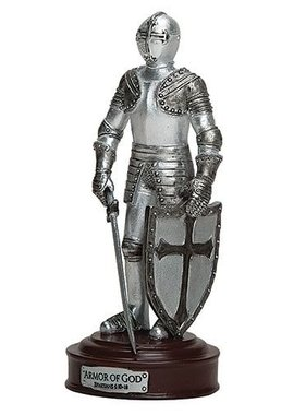 "5"" Armor of God Knight Figurine"