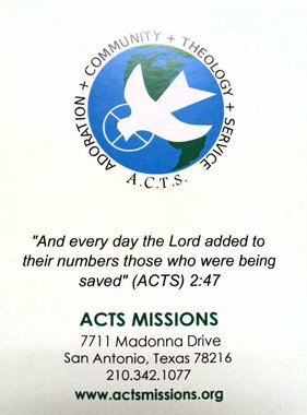 ACTS Missions English Tri-Fold