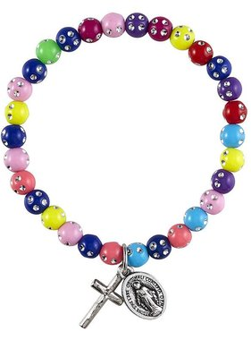 Miraculous Colorful Bead Bracelet