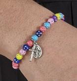 Miraculous Colorful Bead Bracelet