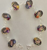 Virgen De Guadalupe SS Bracelet
