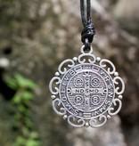 St Benedict Fancy Pendant w/cord