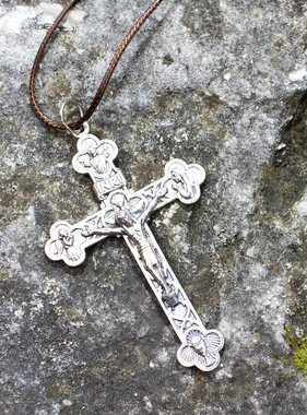 "2.25"" Four Way Crucifix"