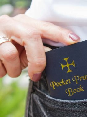 Navy Blue Pocket Prayer Book
