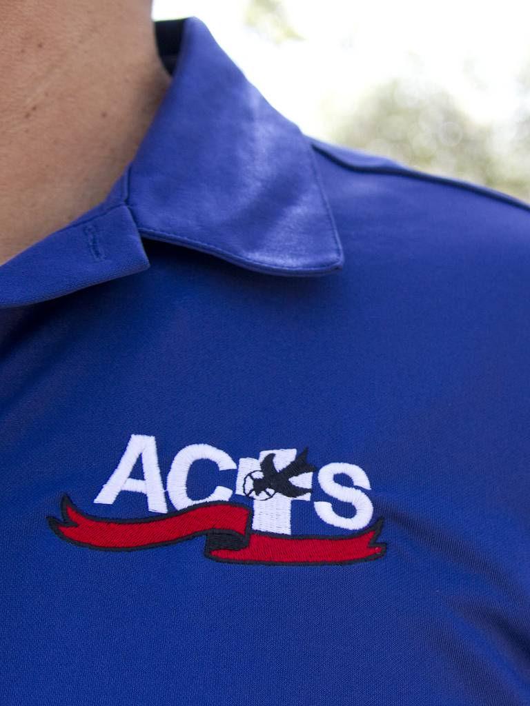 ACTS Ribbon Logo Men's Polo