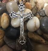 Cut Out Crucifix Pendant