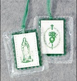 immaculate Heart of Mary Green Scapular
