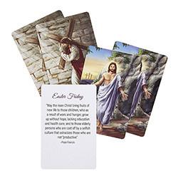 Lenten Prayer Card Set