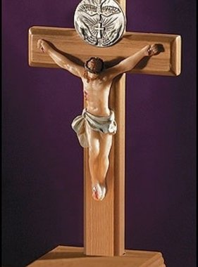 "Holy Spirit 5"" Standing Crucifix"