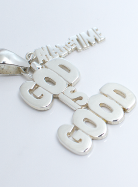 God is Good SS Pendant