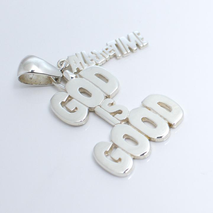 God is Good SS Pendant