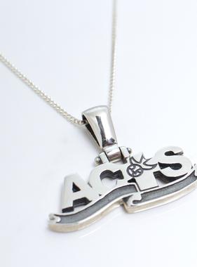 ACTS Ribbon Logo SS Pendant