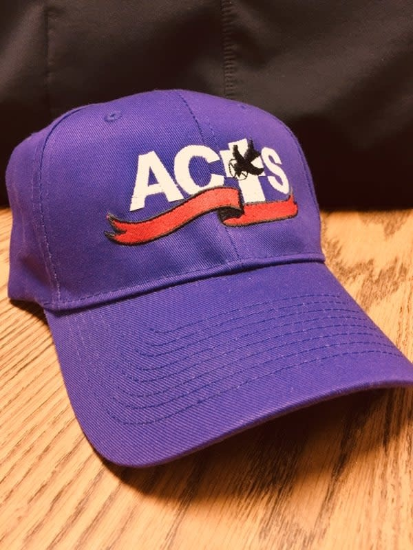 ACTS Ribbon Logo Caps