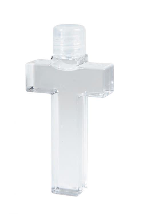 Cross Shaped Holy Water Bottle