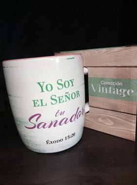 Taza Yo Soy el Senor tu Sanador