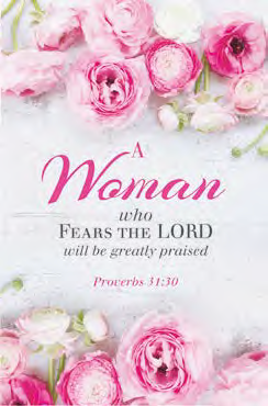 Woman Wood Plaque Proverbs 31:30
