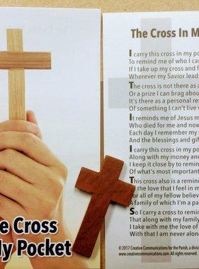 The Cross in My Pocket Cross w/Prayer Card