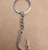 Fish Hook Key Chain